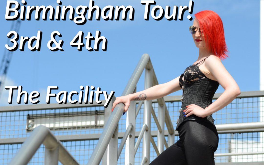 Birmingham Tour! October 3rd & 4th 2020!