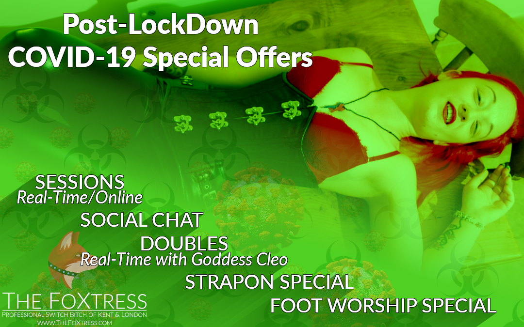 Post-Lockdown COVID-19 Special Offers